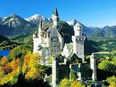 Neuschwanstein Schloss, Bavaria - home of Prince Ludwig II. (The inspiration for Disney's Sleeping Beauty castle). Ashford Castle, Fairytale Castle, Cinderella Castle, Oh The Places You'll Go, Places To Travel, Places To Visit, Beautiful Castles, Beautiful Places, Lakes