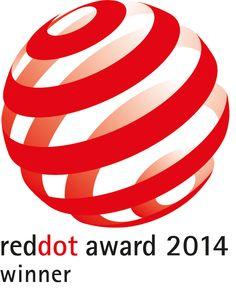 Red Dot award for innovative design