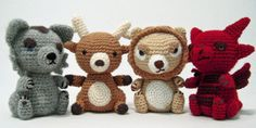 Pattern: Game of Thrones Sigils Amigurumi/these would be so big right now