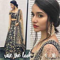 Rate the look 1.... The beautiful Shraddha Kapoor all set for an event. @Bollywood ️ ️ ️
