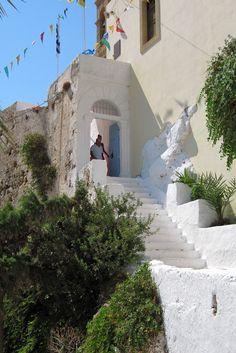 The Monastery of Chrissoskalitissa, 3 km away from Elafonisi beach in Chania, Crete #crete #greece