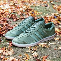 Adidas Originals Hamburg: Base Green