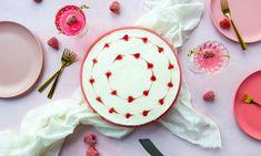 Kwarktaart frambozenhartjes Recept | Dr. Oetker Cupcake, Cooking, Desserts, Kitchen, Tailgate Desserts, Deserts, Cupcakes, Cupcake Cakes, Postres