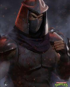 "Edgar Gómez on Instagram: ""Shredder, the second character of the paintings I'm doing about 80's and 90's villains. Hope you like it :) #shredder #tmnt #villain #ninja…"""