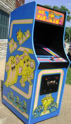 ms pacman machine value