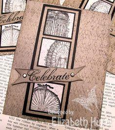 Card made using Stampin' Up! Sale A Bration set Feeling Sentimental
