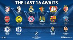 Chelsea, Manchester City and Arsenal all make it to the Champions League Round of 16 Football Latest, Champions League Football, Liga Premier, Knock Knock Jokes, Just A Game, Manchester City, Fc Barcelona, Real Madrid, Arsenal