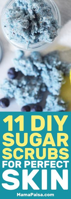 I love sugar scrubs and am always on the lookout for new recipes. I've found 11 awesome recipes that I have to try so that my skin can stay looking great! #DIYBeauty #Beauty #BeautyHacks