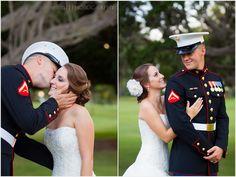 <3 military weddings