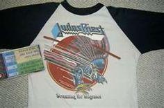 Vintage Judas Priest Concert Tour Shirt Jersey for sale
