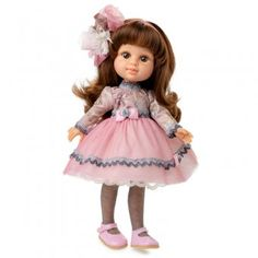 Berjuan doll 35 cm - Boutique dolls - My Girl brunette with tulle dress Hair Color For Black Hair, Doll Hair, Black 7, Jouer, Tulle Dress, Best Brand, Eye Color, Redheads, My Girl