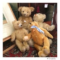 Teddy bears picnic from last weekend Country House Hotels, Antique Fairs, Teddy Bears, Picnic, Antiques, Toys, Animals, Vintage, Activity Toys