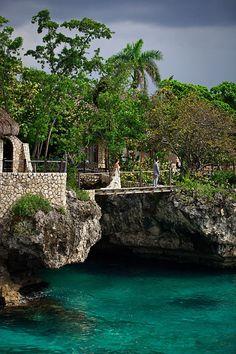 the rock house Jamaica. Amazing!