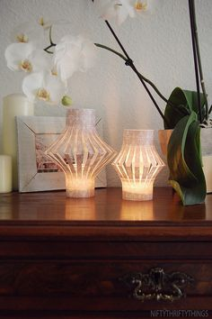 Easy to make paper lanterns,so cute!!!