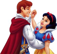 Princess Snow White with Prince (Snow Whites Prince Charming happened to have red hair) Disney Princess Snow White, Prince And Princess, My Prince, Princess Music, Princess Photo, Disney Couples, Disney Love, Disney Art, Disney Stuff
