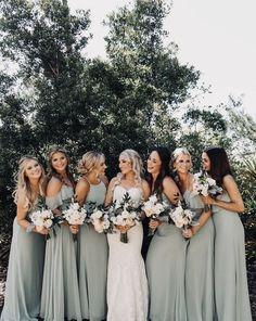 Cute Wedding Ideas, Wedding Goals, Perfect Wedding, Wedding Inspiration, Bridesmaid Dress Colors, Wedding Bridesmaid Dresses, Dream Wedding Dresses, Sage Green Wedding, Ring Verlobung