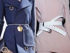 Модные женские пояса и ремни весна-лето 2015