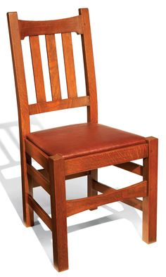 Stickley Dining Chair - Woodworking Projects - American Woodworker