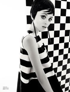 Vintage-Inspired: Carolina Thaler photographed by Eduardo Rezende for Marie Claire Brazil, April 2013