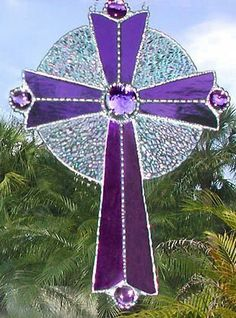 Purple cross--I love this color...