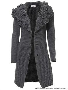 Crochet Coat, Crochet Jacket, Crochet Cardigan, Crochet Clothes, Sweater Coats, Pullover Sweaters, Cardigans For Women, Coats For Women, Only Cardigan