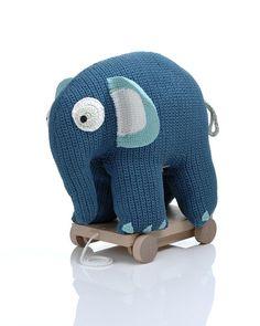 Sebra XL elefant på hjul