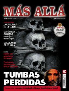 Revista #MásAllá 312. #Tumbas perdidas. ¿Dónde están los restos de #AlejandroMagno, #GengisKan y #Jesús?