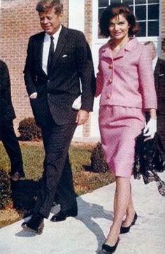 Peut être le 10 novembre 1963. jack  & Jackie