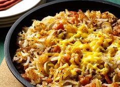 Cheesy Hash Brown Skillet Dinner Recipe from Simply Potatoes