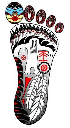 Sasquination: Bigfoot logo by Rictor-Riolo.deviantart.com