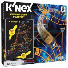 K'NEX Phoenix Fury Coaster Building Set