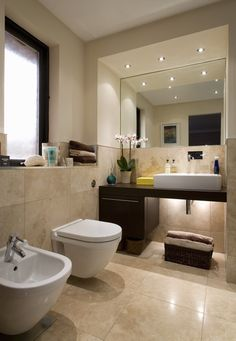 The best modern bathroom design ideas. Create your perfect bathroom whatever your style, budget and room size.