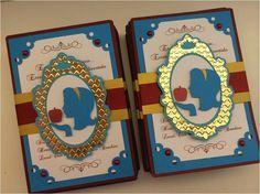 Convite 1_Capa Mais Party Fiesta, Festa Party, Love Silhouette, Mundo Silhouette, Snow White Birthday, Princess Theme Party, Craft Box, Craft Party, Birthday Party Invitations