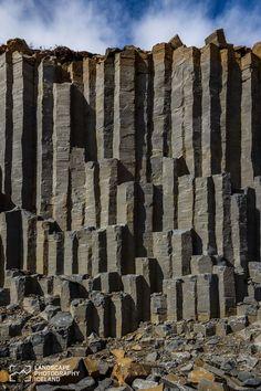 Basalt columns | Svava Sparey Yoga Holidays #iceland #travel #bucketlist…