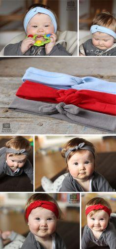 Kindertage | 3 x Haarband – DIY | http://kindertage.eu