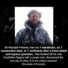 Sir Ranulph Fiennes