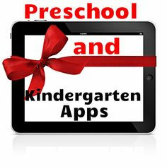 21 wonderful apps for Preschool and Kindergarten! EU