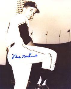Mike McCormick N Y Giants autograph photo