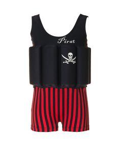 """Traje de banho para menino com proteção, bóia embutida """"Captain Jack"""""""