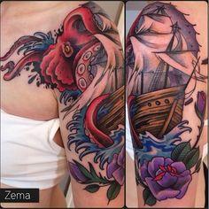 Artist: Zema Located: Tatouage Royal in Montreal, Canada