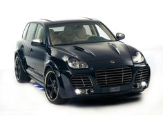 TechArt Magnum based on Porsche Cayenne Turbo ~ Car Tuning Styling Black Porsche, Porsche Cars, Porsche Logo, Future Car, Porche Cayenne, Honda Legend, Singer Vehicle Design, Cayenne Turbo, Turbo Car