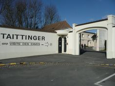 Where the great Tattinger Champagne comes from.
