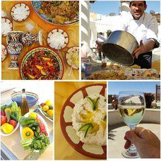 Lunch was cooked and served Al fresco today and boy was it good. Jordanian food rocks. #dinetravelmovenpick #movenpickmomemts #petra #petrabyday #ccrJordan #jordanianfood