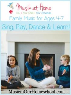 Family Music for Ages from Musik at Home so you can do homeschool music in the comfort of your own home. This is an awesome way to do a mommy and me preschool music class without having to get out to drive anywhere. Music Lessons For Kids, Music Lesson Plans, Music For Kids, Piano Lessons, Preschool Music, Music Activities, Teaching Music, Teaching Kids, Learning Piano