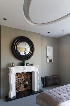 Beautiful classic fireplace | MARK FEEHILY COLLABORATION