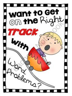 Want to Get the Right Track with Word Problems? Freebie from Brooke Eagerton on TeachersNotebook.com -  (10 pages)  - Freebie Multiplication and Division Word Problem Task Cards