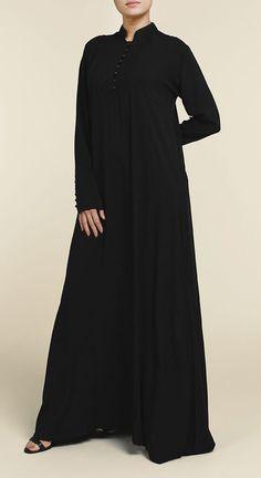Most Popular Abaya Fashion Casual Black 34 Ideas Black Hijab, Black Abaya, Abaya Fashion, Muslim Fashion, Fashion Dresses, Hijab Style Dress, Abaya Style, Modele Hijab, Modest Outfits