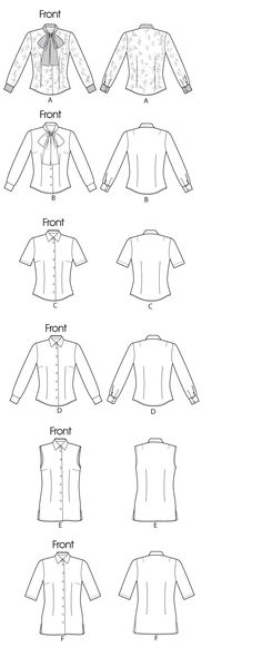 Womens Vest Pattern Simplicity 4079 Easy to Sew Lined Vests Sizes 14 ...