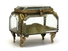 10% Off Antique French Jewelry Box. Gilt and by LeBonheurDuJour