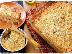 Super Cheesy Macaroni Schotel Panggang langkah memasak 9 foto Macaroni Schotel Recipe, Bread Recipes, Cookie Recipes, Oven Baked Chicken Parmesan, Recipe Steps, Indonesian Food, Yummy Snacks, Macaroni And Cheese, Cheddar